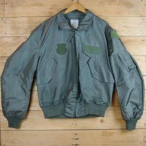 USAF CWU-36/P Nomex Summer Flight Jacket - Sage